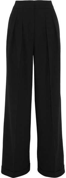 Michael Kors Collection - Crepe Wide-leg Pants - Black