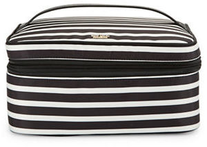 Kate Spade Kate Spade New York Micah Striped Nylon Cosmetic Case