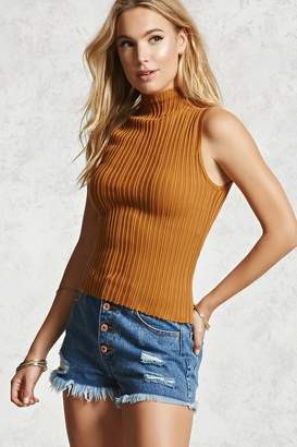 Forever 21 High Neck Sweater Top