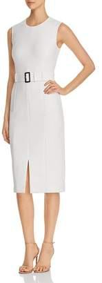 BOSS Dadoria Belted Sheath Dress