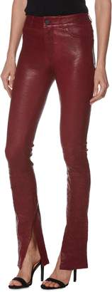 Paige Constance Leather Skinny Pants