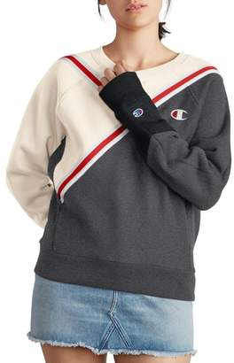 Champion Colorblock Reverse Fleece Sweatshirt