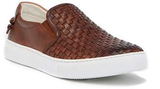 Vintage Foundry Woven Slip-On Leather Sneaker