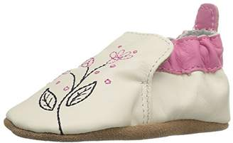 Robeez Girls' Soft Soles Crib Shoe