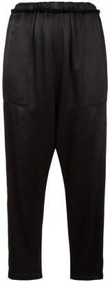 Raquel Allegra drop crotch trousers