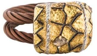 Charriol Diamond Sahara Cable Ring