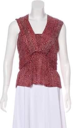 Isabel Marant Sleeveless Silk Top