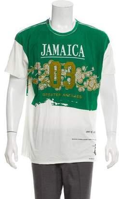 Dolce & Gabbana Jamaica Graphic Crew Neck T-Shirt