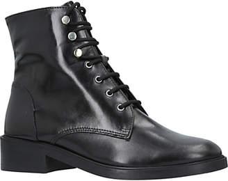 Carvela Skewer Lace Up Ankle Boots, Black