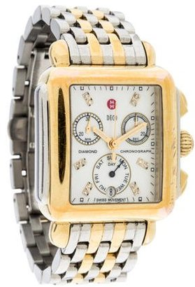 Michele Deco Chronograph Watch $695 thestylecure.com