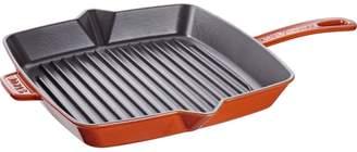 Staub Burnt-Orange Grill Pan