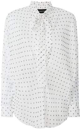 Alexandre Vauthier polka-dot blouse