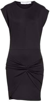 IRO Pearls Twist Panel Minidress