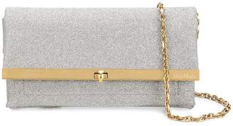 Max Mara foldover clutch bag