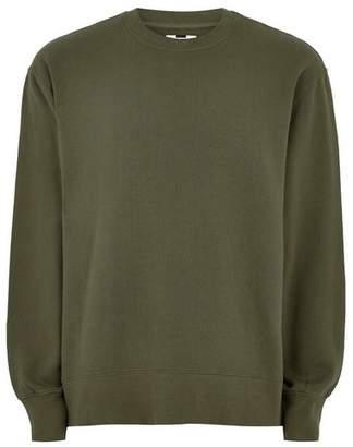 Topman Mens Classic Green Sweatshirt