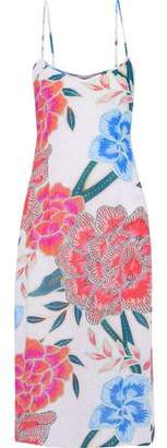 Mara Hoffman Floral-Print Gauze Midi Dress