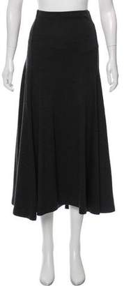 Ralph Lauren Black Label Wool Midi Skirt