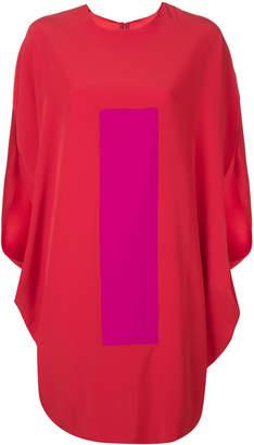Gianluca Capannolo contrast print T-shirt dress