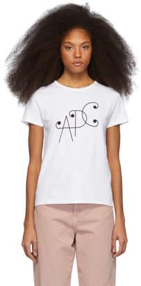 A.P.C. White Klee T-Shirt