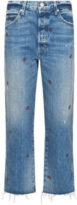 Amo Denim Loverboy Embroidered Jeans