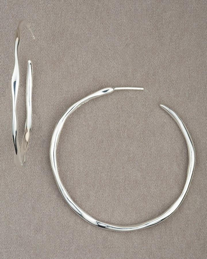 Ippolita Squiggle Hoop Earrings
