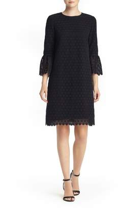 Lafayette 148 New York Sidra Bell Sleeve Lace Dress