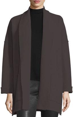 Eileen Fisher Boiled Wool Kimono Jacket $378 thestylecure.com