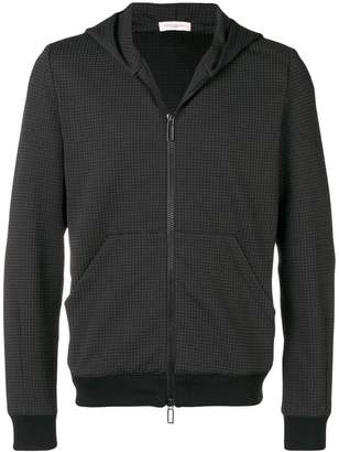 Paolo Pecora houndstooth print zipped jacket