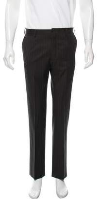 Dolce & Gabbana Pinstripe Virgin Wool Dress Pants