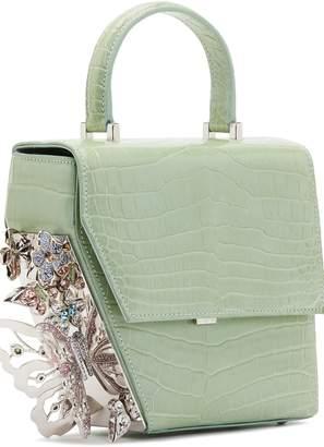 Ming Ray Crocodile Green Shoulderbag