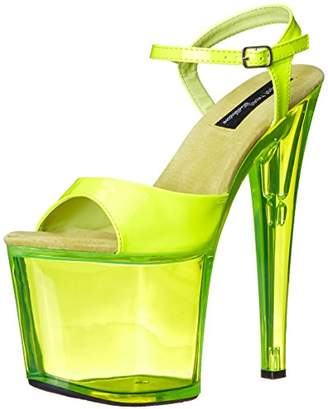 The Highest Heel Women's Fantasy-101 6 Inch Platform Sandal