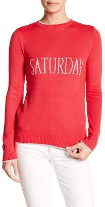 Absolutely Cotton Saturday Sweater