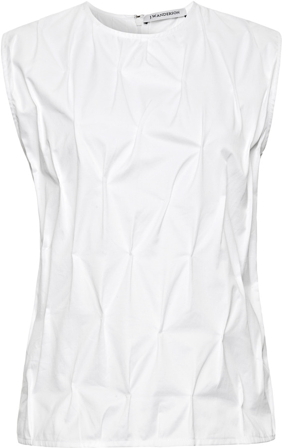 J.W.Anderson Cotton Stitched Top