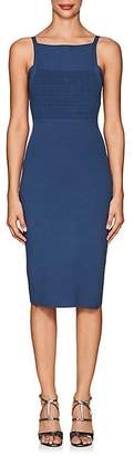 Narciso Rodriguez Women's Compact Knit Square Neck Dress