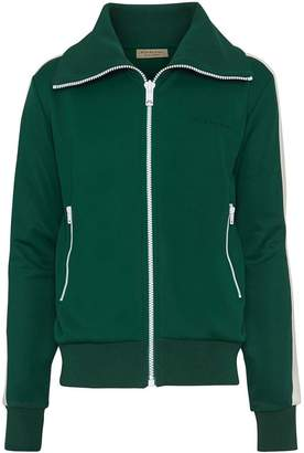Burberry Stripe Detail Jersey Track Top