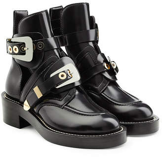 Balenciaga Leather Belt Boots