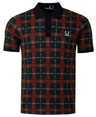 Raf Simons Fred Perry Jacquard Knit Polo