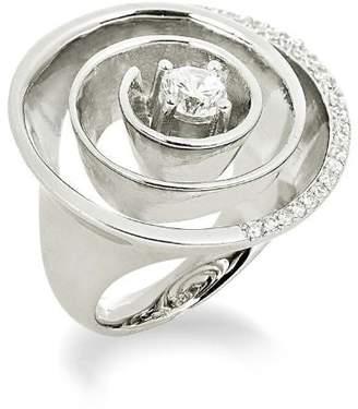 Alvina Alivna ZR-3566 Silver Ring