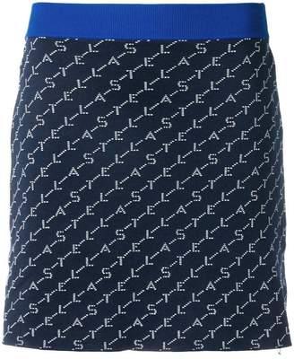 Stella McCartney logo knit mini skirt