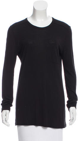 Alexander Wang T by Alexander Wang Knit Long Sleeve T-Shirt