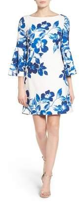 Eliza J Floral Shift Dress