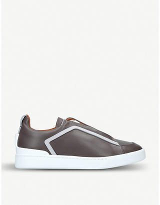new arrival 77920 c7fc4 Ermenegildo Zegna XXX leather trainers