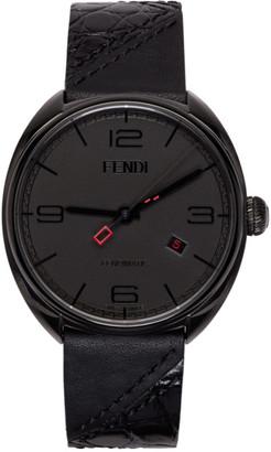 Fendi Black Momento Watch $1,950 thestylecure.com