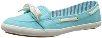 Keds Women's Teacup Boat Seasonal Solid Fashion Slip On $50 thestylecure.com