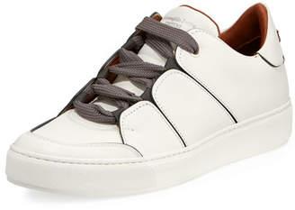 Ermenegildo Zegna Tiziano Men's Leather Low-Top Sneaker