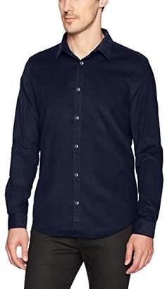Calvin Klein Jeans Men's Long Sleeve Corduroy Button Down Shirt