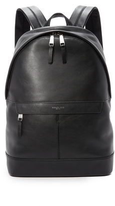 Michael Kors Owen Leather Backpack $398 thestylecure.com