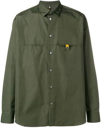 Oamc tab-detail shirt
