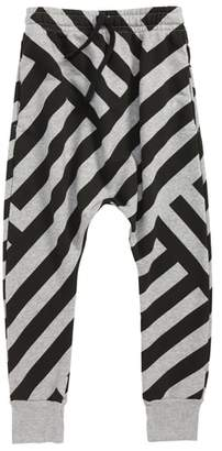 Nununu Stripe Baggy Sweatpants