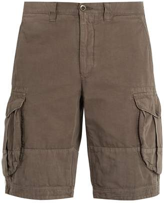 Incotex Mid-rise regular-fit cargo shorts